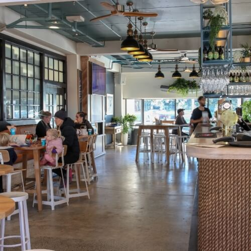 Shoreward Bar & Kitchen Hibiscus Coast